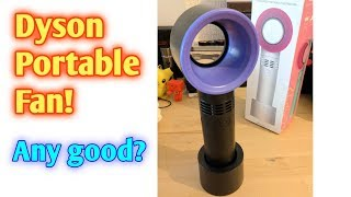 Dyson style Portable Fan $6! Unbox and review