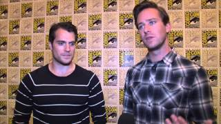 The Man From U.N.C.L.E.: Henry Cavill & Armie Hammer Exclusive Interview SDCC