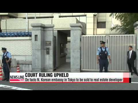 De facto North Korean embassy in Tokyo to be sold off to real estate developer