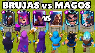 WITCHES VS WIZARDS | WHICH IS BETTER? | 3vs3 | NEW MOTHER WITCH | CLASH ROYALE