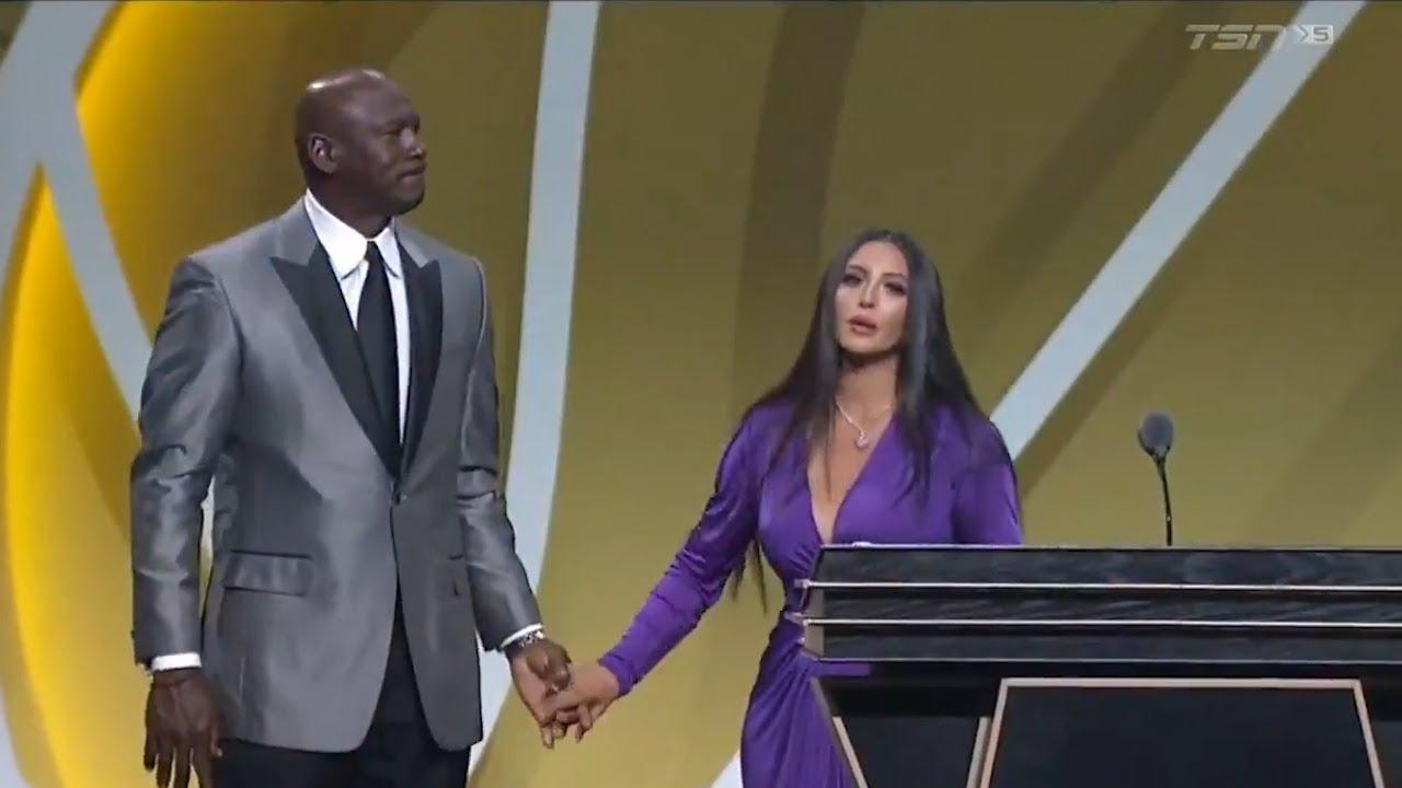 Vanessa Bryant pays tribute to Kobe Bryant at Hall of Fame ...