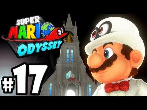 Super Mario Odyssey - Nintendo Switch Gameplay Walkthrough PART 17: Moon Kingdom - Capture Caverns