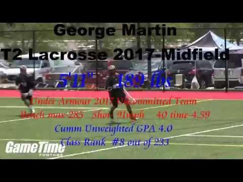 George Martin Lacrosse 2015 Summer