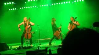 Apocalyptica Live in Tempe, AZ — Enter Sandman
