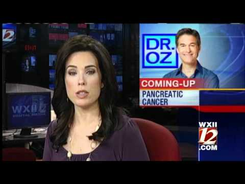 Dr  Oz Talks About Pancreatic Cancer