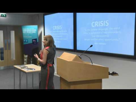 Leeds Business School Guest Speaker Series - Heather Jackson