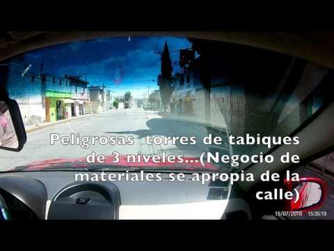 Tabiques en la calle (Col. San Cayetano)