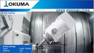 Okuma MULTUS U3000 B-Axis Turning