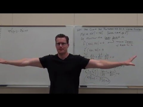 Calculus 3 Lecture 13.7:  Finding Tangent Planes and Normal Lines to Surfaces