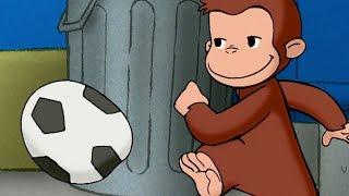 サッカーに夢中なジョージ。もっと練習したいのだが、今日はチャーキー...