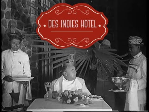 IKLAN JAMAN DULU | DES INDIES HOTEL | BATAVIA 1930