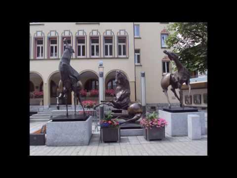 Liechtenstein. Bonito y pequeño País entre Austria y Suiza.