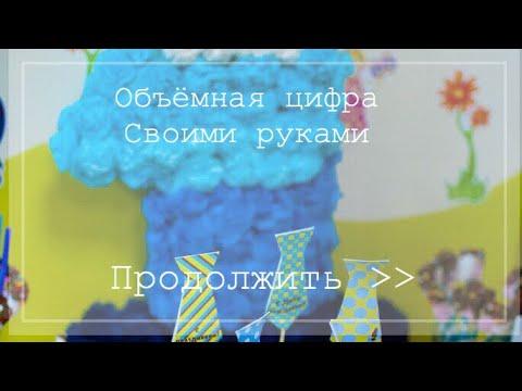 ЦИФРА 7 ИЗ ДЛИННЫХ ШАРИКОВ ШДМ цифры из шаров своими руками TWISTING BALLOON NUMBER 7