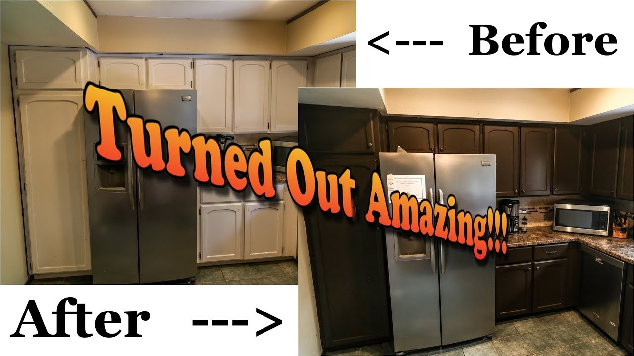How To Paint Your Kitchen Cabinets For Under $100 Nuvo Kitchen Cabinet  Paint Kit Review B & A