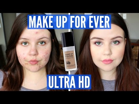 First Impressions | Make Up For Ever Ultra HD Foundation (Oily/Acne)