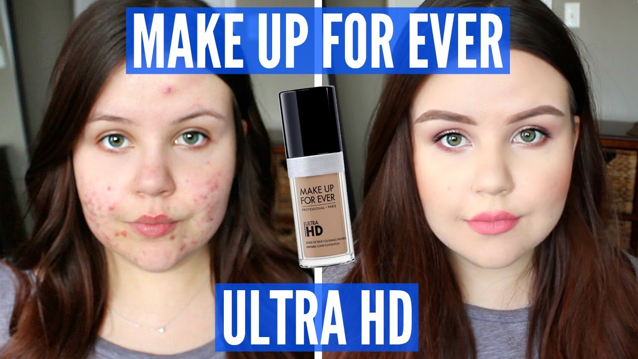 Make up for ever ultra hd foundation vacuum