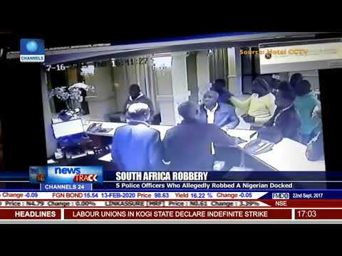 South Africa Robbery: 5 Police Officers Who Allegedly Robbed A Nigerian Docked