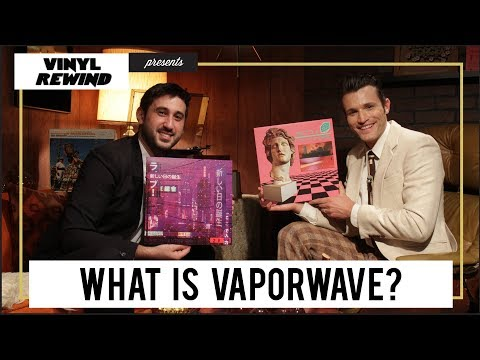 Vinyl Rewind - What is Vaporwave? Beginner's guide for listening on vinyl | feat. Too Many Records