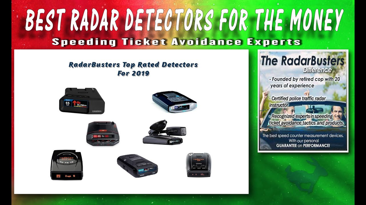 Best Radar Detectors of 2019, For the Money