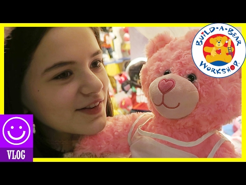 BUILD A BEAR WORKSHOP CHALLENGE! |  KITTIESMAMA
