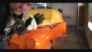 How To Paint Flames On Your Car-From Start To Finish-Part 6