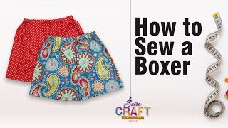 How To Cut & Sew A Boxer For Beginners/ Sewing Tutorial/How To Sew A Pant/Boxer Sewing {Detailed}