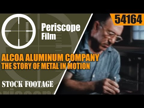 ALCOA ALUMINUM COMPANY  THE STORY OF METAL IN MOTION  DIE, PUNCH & SLUG 54164