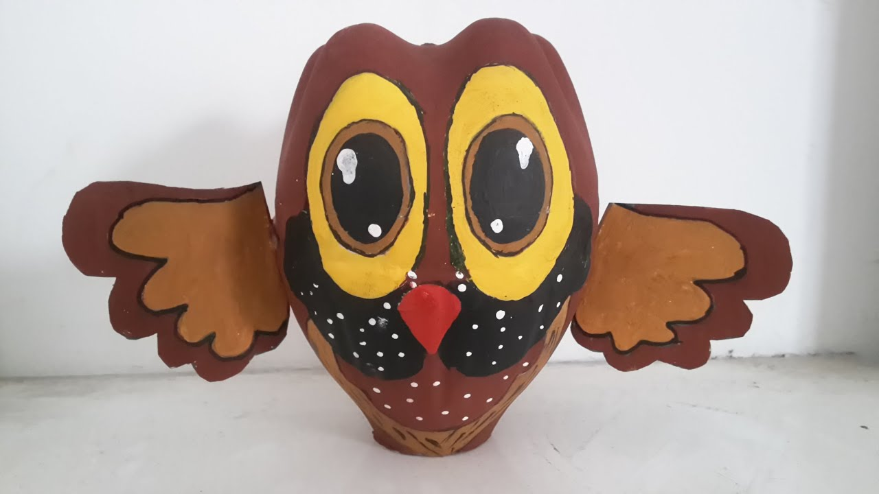 Best out of waste owl Best out