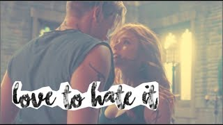 Clary and Jace ➰ Love to Hate it