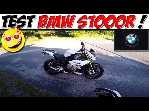 #MotoVlog 40 : TEST BMW S1000R / ROADSTER A WHEELING !!!
