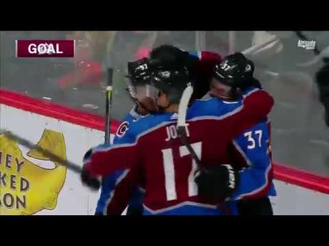 AVALANCHE OUTLAST SHARKS, EARN 9TH STRAIGHT VICTORY AT HOME