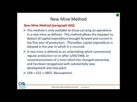 Taxation Of Miners
