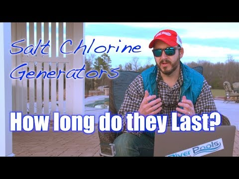 How Long Should Salt Water Chlorine Generators for Pools Last?