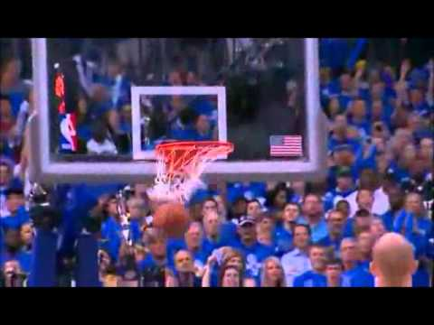 Dirk Nowitzki Battles Through Ilness in Game 4 of the NBA Finals