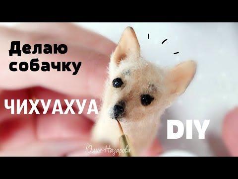 Самая Маленькая Собака Чихуахуа Своими Руками Лепка Miniature Chihuahua DIY