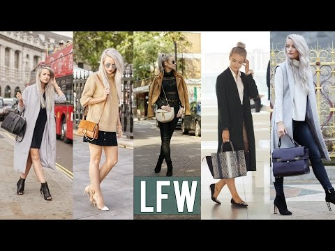London Fashion Week in 4 Minutes | Inthefrow