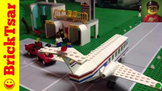 Vintage Town Lego Airport 6396 International Jetport From 1990 Youtube