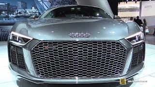 2018 Audi R8 V10 Plus - Exterior and Interior Walkaround - 2017 LA Auto Show