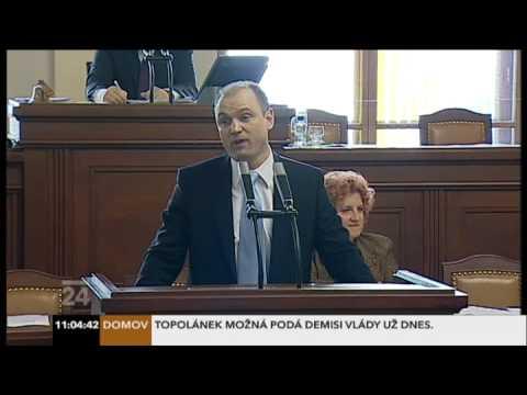 Spor Ivana Langera a Lubomíra Zaorálka ve sněmovně