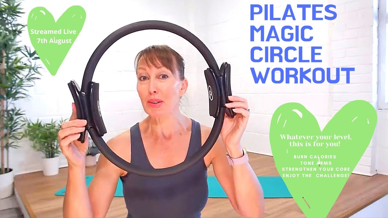 30 Minute Pilates - Magic Circle Workout with the Pilates Ring Followed by Q & A