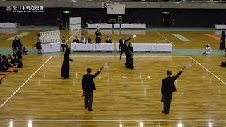 HOKKAIDO sv IBARAKI 66th All Japan Interprefecture Kendo Championship 2018 Final