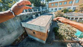 Lisbon Rooftop Parkour POV