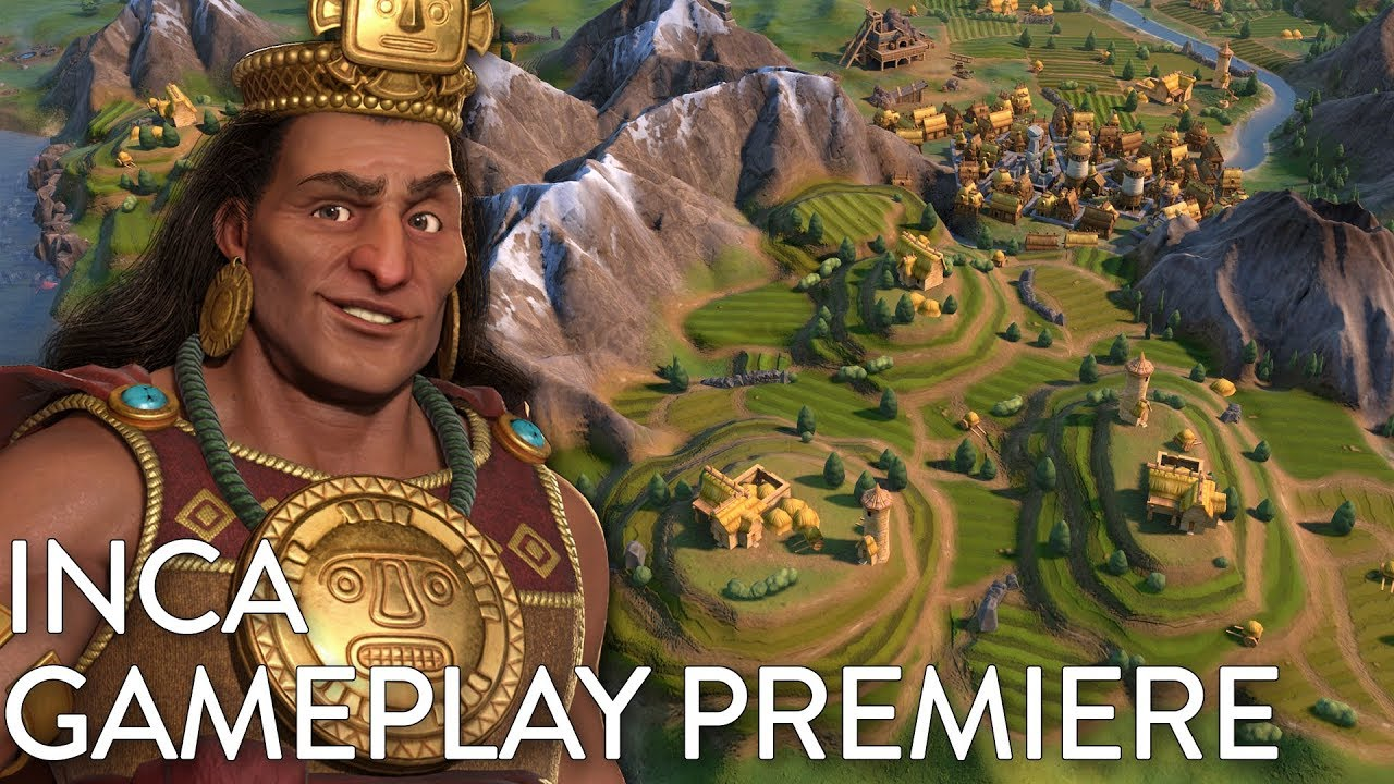 Civilization VI: Gathering Storm - Inca Gameplay Premiere (Dev Livestream)