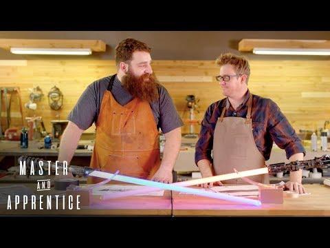 Master & Apprentice: Star Wars - Custom Lightsabers | Rooster Teeth