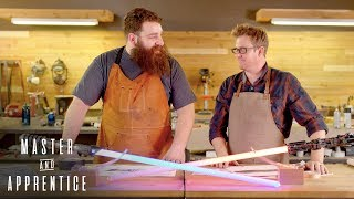 Master & Apprentice: Star Wars - Custom Lightsabers | Rooster Teeth