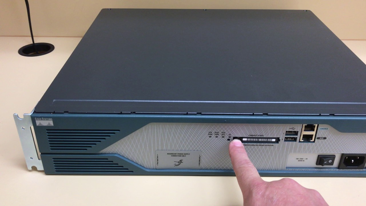 Cisco 2800 Series Router Flash Replacement