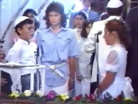 BET YAAKOV SİNAGOGU - 1987 - MAHAZİKE TORA SEZON SONU KUTLAMALARI