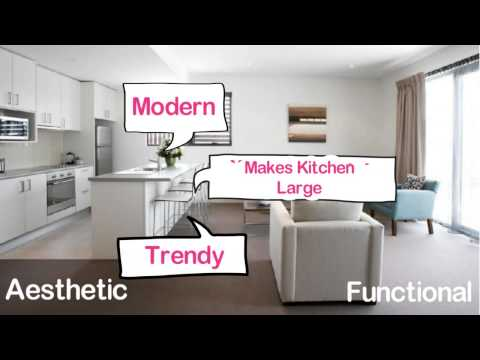 Interior Design Ideas #16 : Open Kitchen Design for Indian Homes