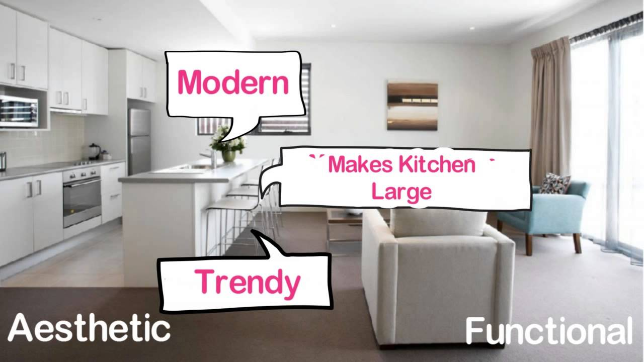 Interior Design Ideas #16 : Open Kitchen Design For Indian Homes   YouTube Part 9