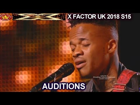 """Armstrong Martins sings SOULFUL """"Breaking Free"""" AMAZING   AUDITIONS week 3 X Factor UK 2018"""